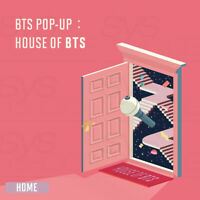 BTS POP-UP HOUSE OF BTS Official MD HOME Ver + Tracking Number