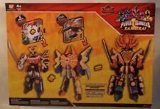 Power Rangers Samurai Megazord & Clawzord Combime To Make Claw Armor Megazord!