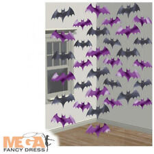 Vampire Foil Bats String Decorating Halloween Party Trick Treat Decoration Kit