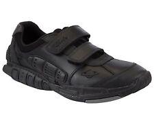 Clarks Boys Infants Orbiter Black Leather Lights School Shoes Size 7 G