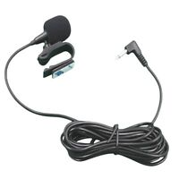 3.5mm Car Stereo External Microphone For Bluetooth Stereo GPS DVD MP5 Radio Soft