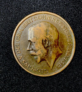 George V 1912 One Penny