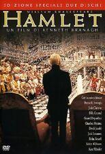 HAMLET (1996) Kenneth Branagh 2 DVD NUOVO ED.INTEGRALE ITALIANO SIGILLATO Amleto