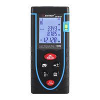 100M LCD Laser Misuratore di Distanza Telemetro Distanziometro Rangefinder