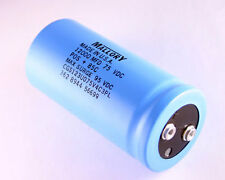 1x 12000uF 75V Large Can Electrolytic Capacitor 12000MFD 75VDC 85C 95V 12,000