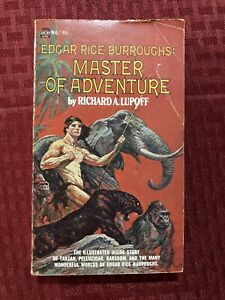 Edgar Rice Burroughs: Master Of Adventure By Richard A Lupoff Illust. Ace N-6