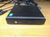 HP ProDesk 600 G1 DM Intel i5-4590T 2.00GHz 4GB RAM 500GB HDD Windows 10 Pro j