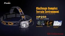 Fenix HP25R LED Stirnlampe Kopflampe headlamp 1000 Lumen inkl. Akku + USB Kabel