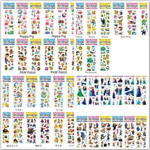 Cartoon Bubble Kids Party Stickers
