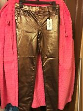 Women's Juicy Couture Skinny Gold Coated Jeans Size 0, 2, 6 Reg. $54