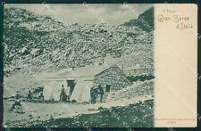 L'Aquila Gran Sasso cartolina QT1036