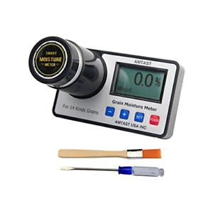 AMTAST Smart Grain Moisture Meter Grain Moisture Tester for 17 Kinds Grains Corn