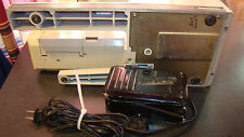 Vintage Montgomery Ward Sewing Machine Model UHT J1907 With Foot Pedal Free Arm