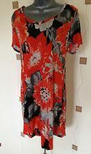 Robe tunique 12 40 Medium Stretch asymétrique Boho Quirky Imprimé Floral NEXT