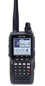 Yaesu VHF Handheld Com Radio w/Li-Ion Battery FTA-450L
