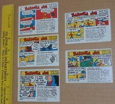 TOPPS Bazooka Joe Trading Cards - 1976 vintage
