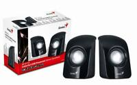 speakers  for PC & Laptop Genius SP-U115 Stereo USB Powered Speakers BLACK