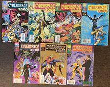 Cyberspace 3000 #1,2,3,4,5,6,8 Marvel UK Comics 1993 Lot Nm