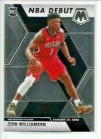 2019-20 Panini Mosaic ZION WILLIAMSON Rookie NBA Debut Pelicans RC No. 269