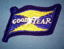 Vintage 1960's Goodyear Tires NASCAR Sponsor Racing Gear Jacket Hat Patch Crest
