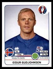 Panini Euro 2016 Eidur Gudjohnsen Iceland No. 628