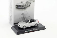 Mercedes-benz SLK 55 AMG Cabriolet Argento Metallizzato 1 64 Kyosho
