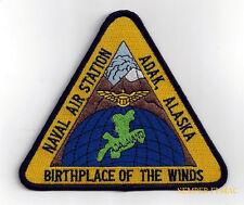 NAS Adak ALASKA PATCH US NAVAL AIR STATION USS PIN UP US NAVY SAILOR GIFT USN