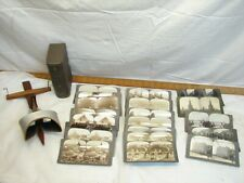 Underwood Stereograph World View Real Photo Stereoview Card Viewer Sun Sculpture