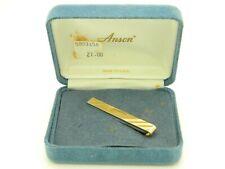 Anson 1/20 14kt Gold Filled Engravable Tie Clasp Clip Vintage