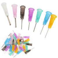 35Pcs Dispensing Needle Tip For Liquid Dispenser Adhesive Glue Syringe Set