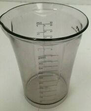 Cuisinart Smart Stick Mixing Cup Beaker 2 Cups 500 ML Clear Plastic