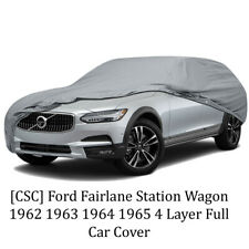 [CSC] Ford Fairlane Station Wagon 1962 1963 1964 1965 4 Layer Full Car Cover