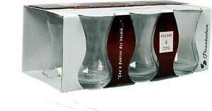 Turkish Tea Glasses & Saucers Set original ,  6 pcs New(y)