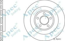 Pair 1x OE Quality Replacement Front Axle Apec Vented Brake Disc 5 Stud 326mm