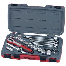 Teng Tools 3/8 Unidad Nuevo Socket Conjunto de herramientas de trinquete extensión Llave Para Tuercas