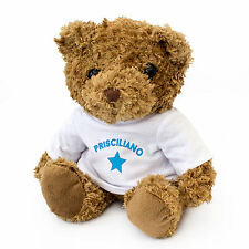 NEW - PRISCILIANO - Teddy Bear - Cute And Cuddly - Gift Present Birthday Xmas