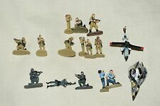 Galoob Micro Machines Military Figures & Vehicles (Lot of 16) LOT-02