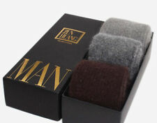 3 Pairs 100% Wool Cashmere Men's Dress Socks Winter Warm Christmas Gift 7-11