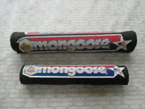 Mongoose Frame Handle Bar Pad for Old School BMX Supergoose Californian Motomag