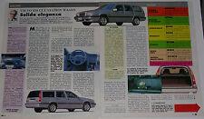 Article Articolo 1993 VOLVO 850 GLT STATION WAGON
