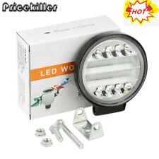 4INCH 72W Round LED WORK LIGHT BAR Spot Flood OFFROAD DRIVING FOG LAMP 12V HOT &