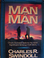 Man to Man by Charles R. Swindoll (1996, Hardcover) Men Christian Holy Bible