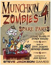 Munchkin Zombies 4: Spare Parts Game Expansion Steve Jackson Games SJG 1493