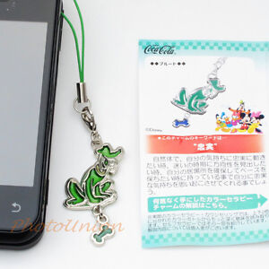 Coca Cola Disney Phone Strap Decoration Charm Keychain Decor Pluto A177