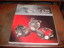 BRIGGS & STRATTON SMALL ENGINE TWIN CYL.VANGUARD LAWN MOWER TRACTOR REPAIR BOOK
