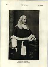 1896 Mr Justice Grantham Portrait Sir William Morris