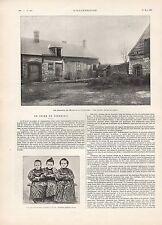 28 - LE CRIME DE CORANCEZ  - CHATRES  1901 - RARE !!