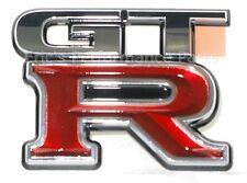 Nissan 84896-24U00 Emblem Trunk Boot Rear Cover Lid Skyline GTR R33 RB26DETT