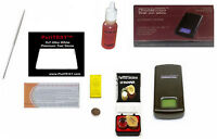 Silver Acid Testing Kit Electronic Tester Scale Digital Test  Sterling .999 .925