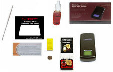 Silver Acid Testing Kit Electronic Tester Scale Digital Test  Sterling .999 .925